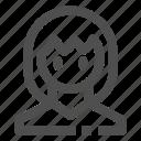 anime, female, girl, wpmen icon