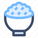 cup, food, meal, restaurant, rice icon