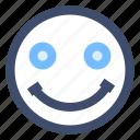 emoji, emotion, face, positive, smile, smiley icon