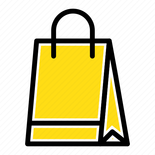 bag, buy, hand, shopping icon