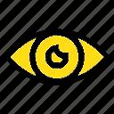 app, basic, design, eye, icon, mobile icon