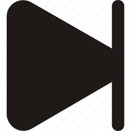 arrow, arrows, direction, forward, last, next icon