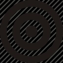 aim, bullseye, efficiency, goal, marketing,objective icon