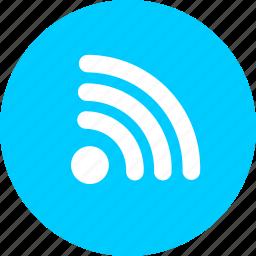 blog, communication, feed, media, news, rss icon