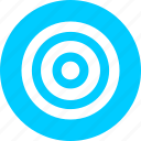 aim, bullseye, efficiency, goal, marketing, objective icon