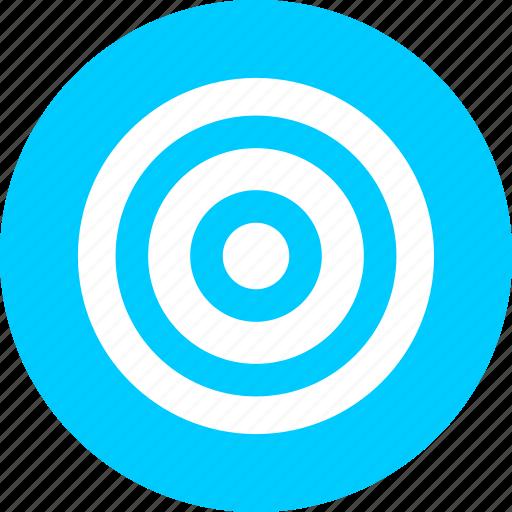 aim, bullseye, efficiency, goal, marketing, objective icon