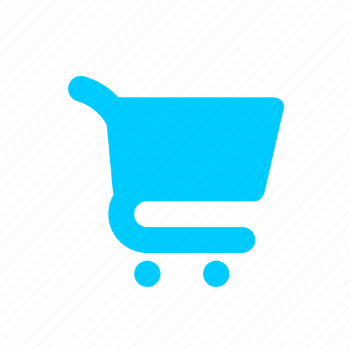 blue, ecommerce, online shopping, shopping cart, supermarket, supermarket trolley icon