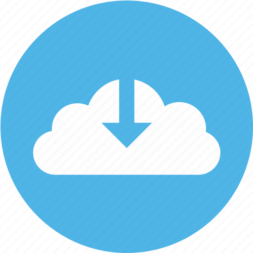 Arrow, cloud, down, download icon, downloadcloud icon - Download on Iconfinder