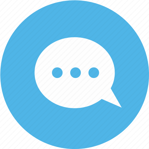 comment, conversation, load, message, speech, talk, text icon icon