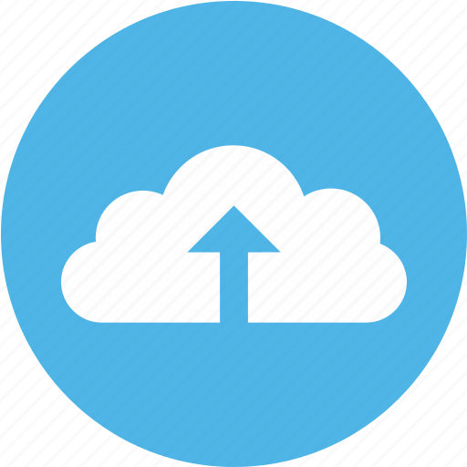 arrow, cloud, up icon, updatingcloud icon