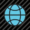 basic, earth, global, ui icon