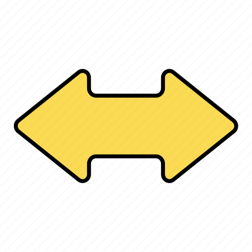 arrow, basic, horizontal, resize, ui icon