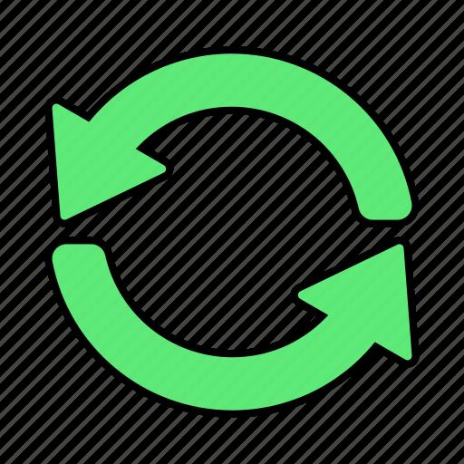 arrow, basic, exchange, multimedia, refresh, ui icon