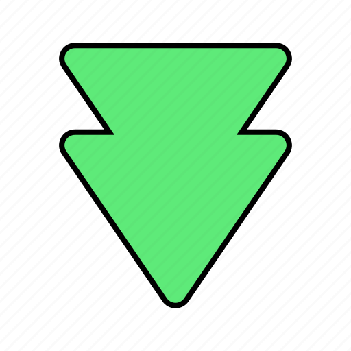 Arrow, basic, down, move, ui icon - Download on Iconfinder