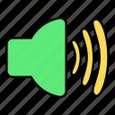 basic, loud, sound, speaker, ui, volume icon