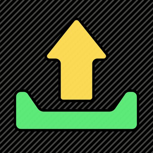 basic, ui, upload icon