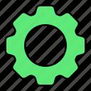 basic, configuration, gear, setting, ui