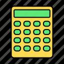 basic, calculate, calculator, ui icon