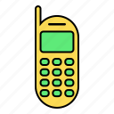 basic, cellular, communicatio, phone, telephone, ui