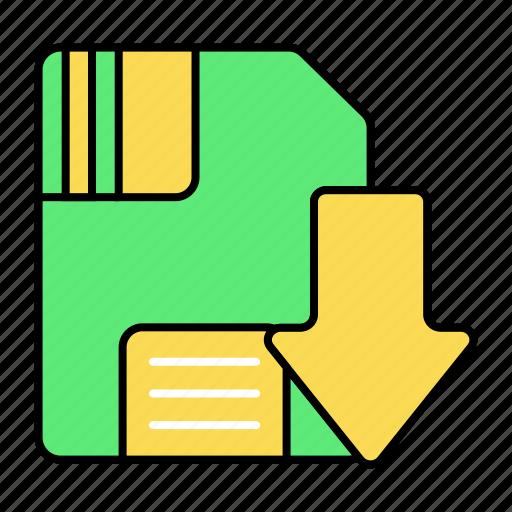 Basic, download, saved, ui icon - Download on Iconfinder