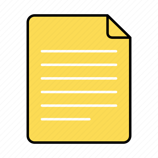 basic, document, file, paper, ui icon