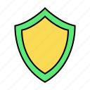 basic, protect, safe, secure, shield, ui icon