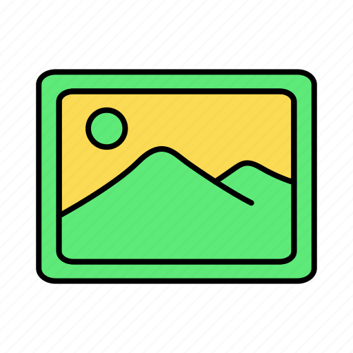 Basic, gallery, image, photo, picture, ui icon - Download on Iconfinder