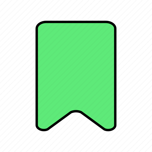 basic, bookmark, draft, index, ui icon