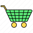 basic, cart, ecommerce, shopping, ui