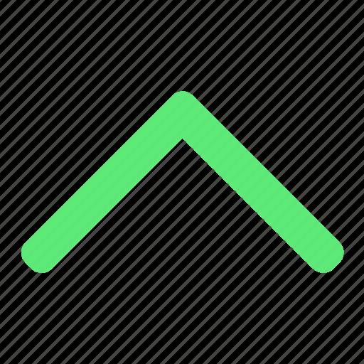 arrow, basic, ui, up icon