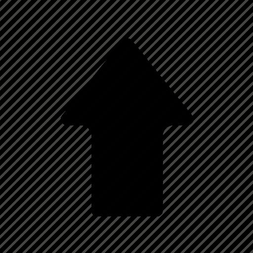Arrow, basic, direction, navigation, ui, up icon - Download on Iconfinder