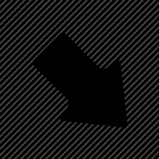 arrow, basic, direction, lower, navigation, ui icon