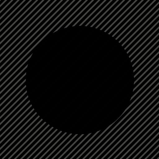 basic, circle, multimedia, player, stop, ui icon