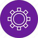 cog wheel, configure, options, setting icon