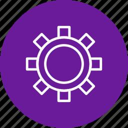 cog wheel, configure, options, setting icon