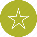 bookmark, favourite, rating, star icon