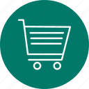 cart, online shopping, shopping, trolley icon