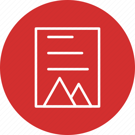 document, file, file format, image icon