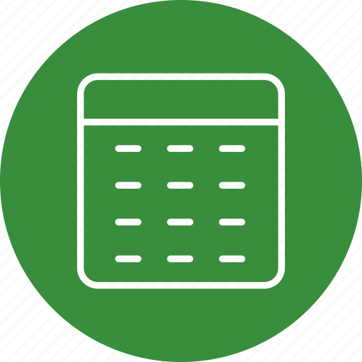 calendar, date, event, month icon