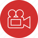movie, photography, video, video camera icon