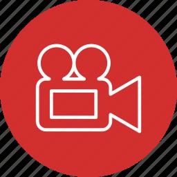 film, movie, multimedia, music, play, video icon