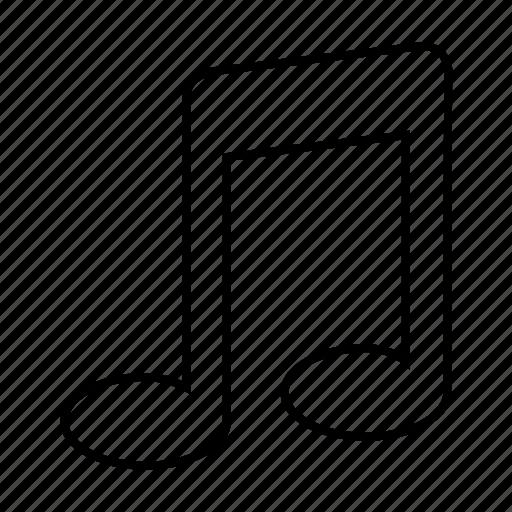audio, basic, music, song, tone, ui icon