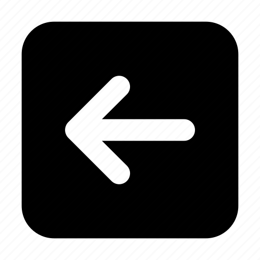 arrow, basic, essential, interface, left, square, ui icon