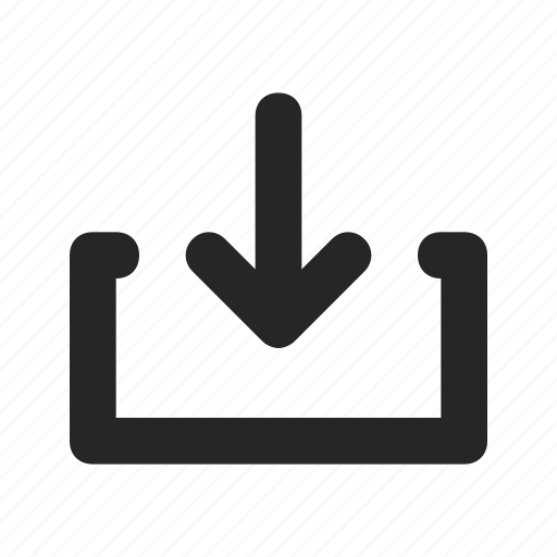 arrow, copy, data, download, save, storage, transfer icon
