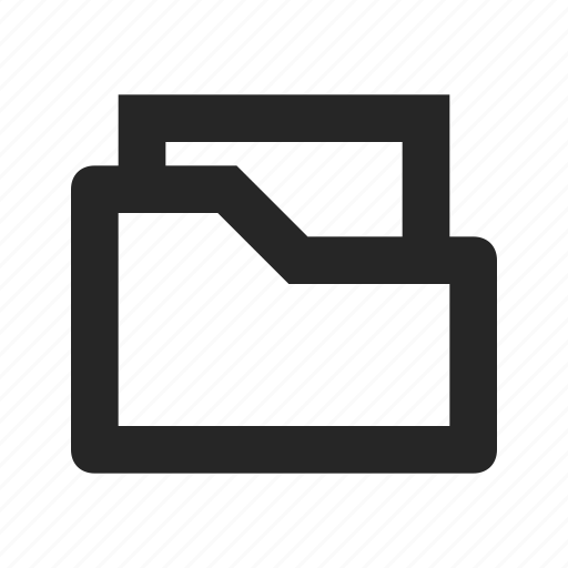 archive, category, data, file, folder, organize, project icon