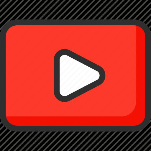clim, movie, player, video, watch icon