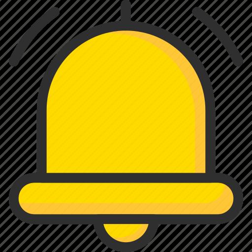 alarm, bell, news, notification icon