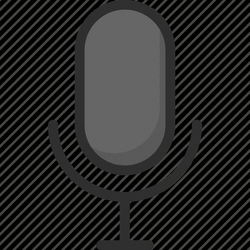 mic, microphone, speak, voice icon