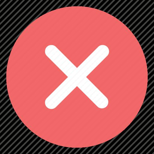 check, delete, error, no, remove icon