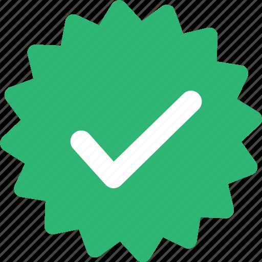 check, ok, sticker, success icon